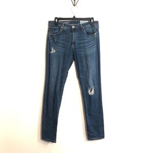 "[AG] ""The Stevie Ankle"" Straight Jeans - Size 29R"